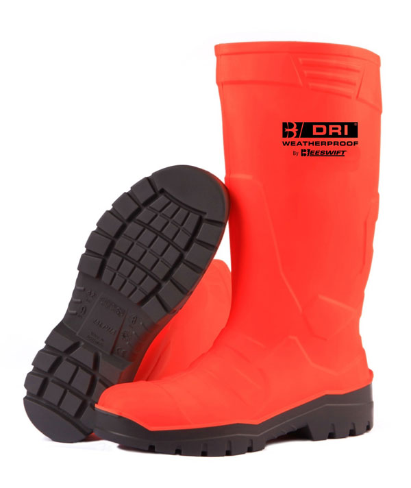 PU SAFETY BOOT S5 HI VIS - BBPUSBOR