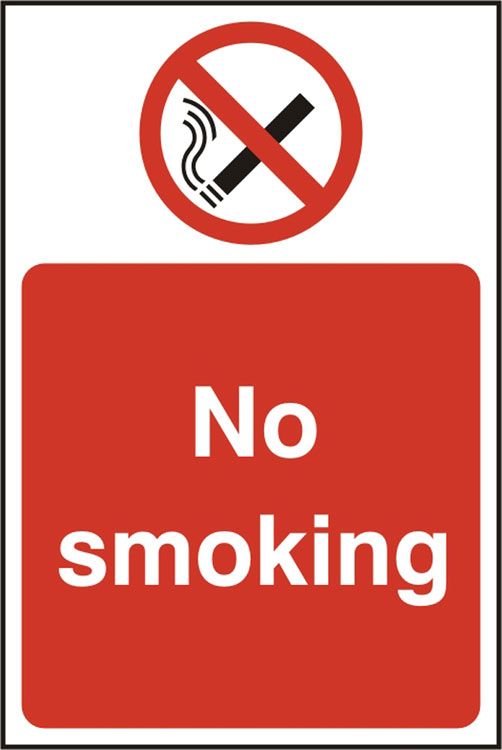 NO SMOKING SIGN - BSS11811