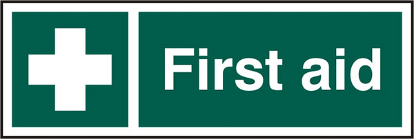 FIRST AID SIGN - BSS12050