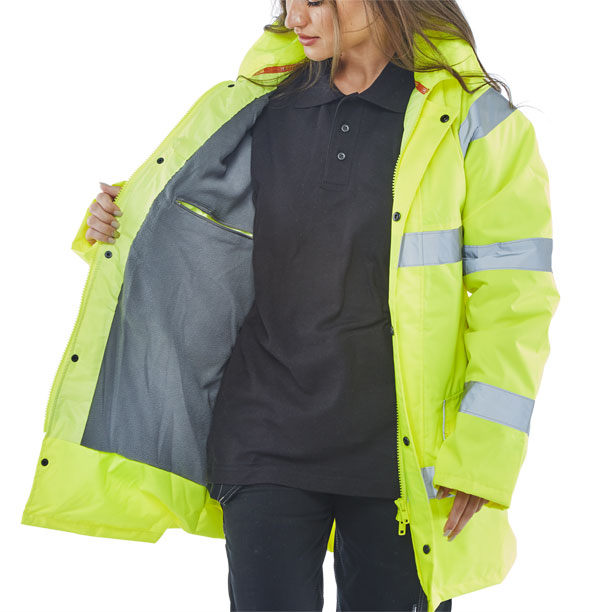 FLEECE LINED TRAFFIC JACKET - CTJFL