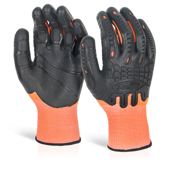CUT RESISTANT FULLY COATED IMPACT GLOVE - GZ61OR