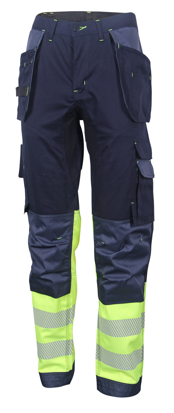 HIVIS TWO TONE TROUSERS - HVTT080