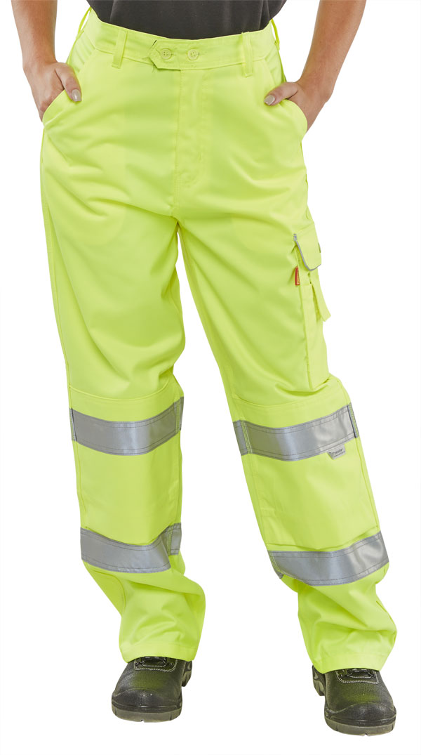 LADIES EN ISO 20471 TROUSER - LPCTEN