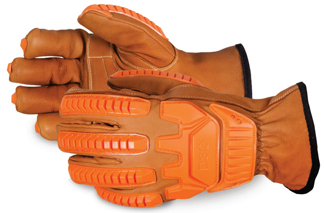 ENDURA LINED DRIVERS GLOVE WITH ANTI-IMPACT D30 BACK - OG378GKGD30