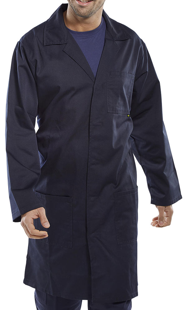 POLY COTTON WAREHOUSE COAT - PCWCN