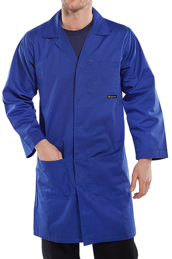 POLY COTTON WAREHOUSE COAT - PCWCR