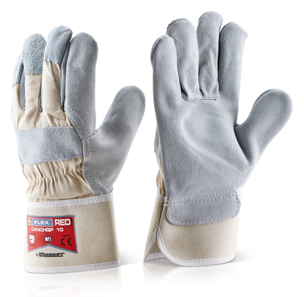 CANADIAN HIGH QUALITY RED RIGGER GLOVE - CANCHQPN