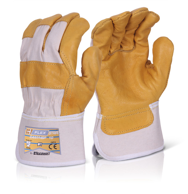 CANADIAN YELLOW HIDE RIGGER GLOVE - CANYHSPN