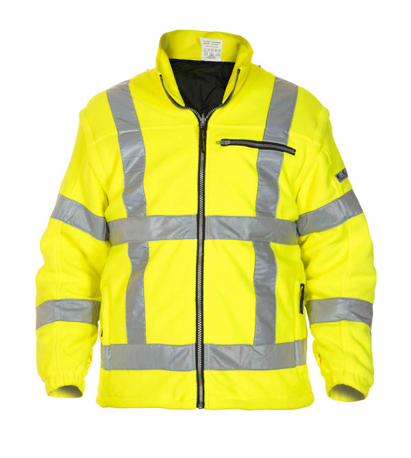 FRANEKER HIGH VISIBILITY FLEECE ORANGE - HYD04026FLSY
